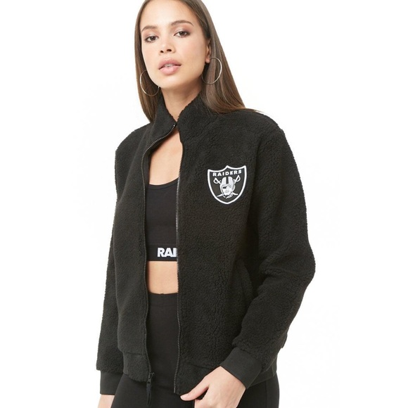 official photos 957ef 38f5e 5/$25 Faux shearling raiders jacket